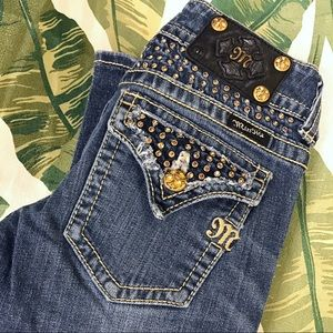 Miss me diamond 25 bootcut jeans